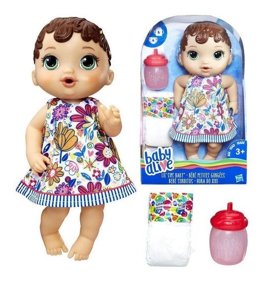 Boneca Baby Alive Brincalhona Hasbro Faz Xixi Fala Se Mexe