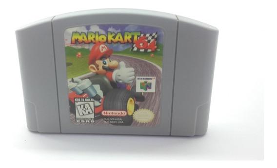 Jogo Mario Kart 64 Original Nintendo 64 N64