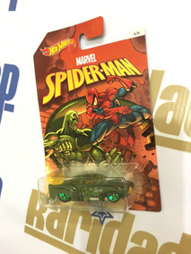 Hot Wheels Carro Homem-aranha Jaded Série Marvel 2016