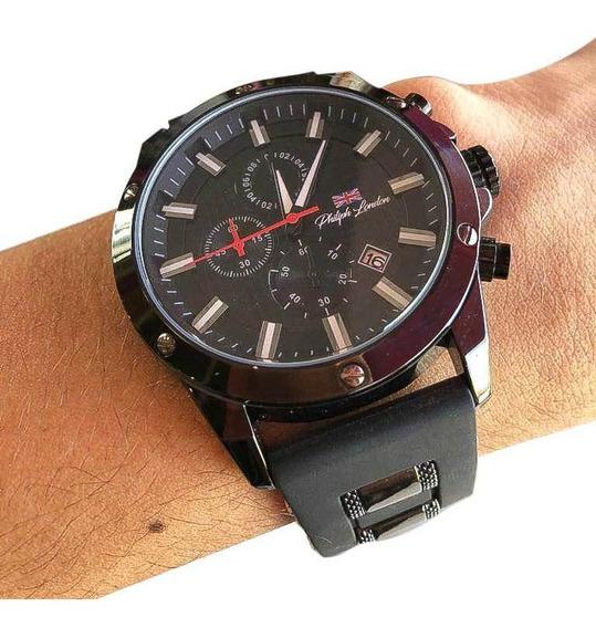 Relógio Analógico Philiph London Preto - Pl80069612m