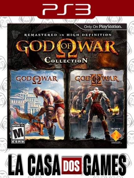 Coleção Do God Of War - Collection - Psn Ps3 - Envio Agora