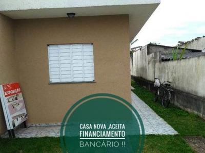 Casa Nova Aceita Financiamento Lado Serra Itanhaém Litoral