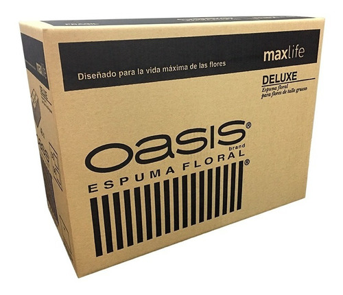Oasis® Espuma Floral Maxlife Deluxe X 48 Bloques