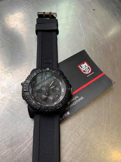Relógio Luminox , Suíço Em Fibra De Carbono Lindo Pop
