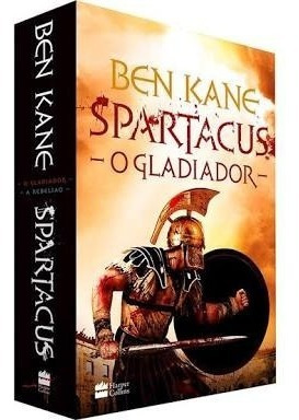 Livro Box Spartacus Gladiador
