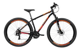 Bicicleta Caloi Vulcan Aro 29 21 Marchas - Preto