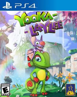 Yooka Laylee Ps4 Digital Gcp