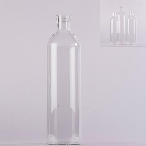 Imagen 1 de 4 de Botella De Vidrio Gde - Transparente Këssa Muebles