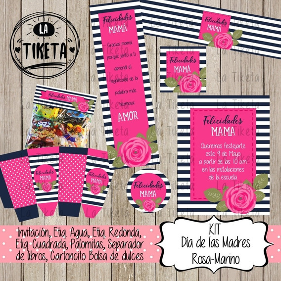 Kit Imprimible Día De Las Madres Digital 2x1