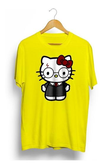 Camiseta Hello Kitty Harry Potter