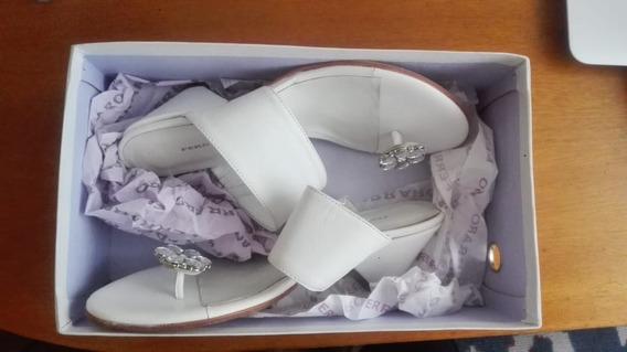 Zapatos De Mujer Ferraro Cuero Vacuno (original)