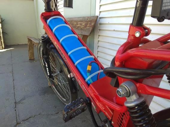 Bateria Bike Scooter Brasil Litio 48v 15ah