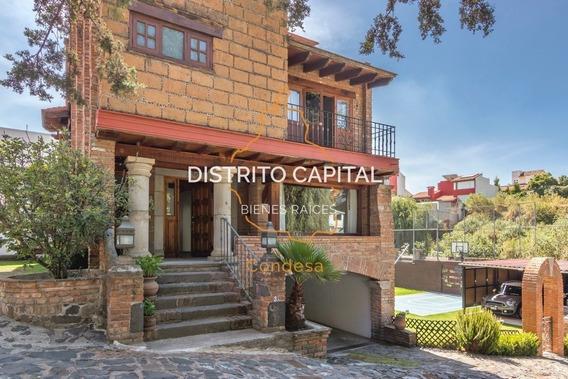 Casa En Renta En Contadero, Cuajimalpa De Morelos, Cdmx