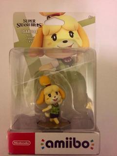 Amiibo Isabelle (canela) Super Smash Bros