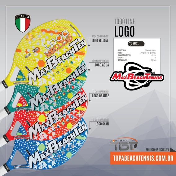 Raquete Beach Tennis Mbt Logo 2018
