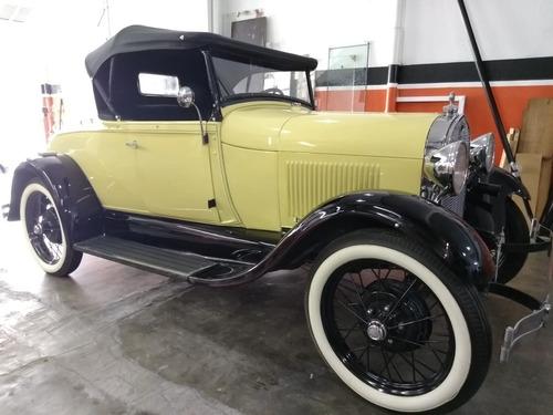 Ford Modelo A 1929 Banco Da Sogra !!!