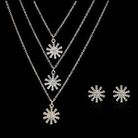 d8e7cc038bf6 3 Unids   Set Mujeres Niñas Collar Elegante Perla Joyas Perl