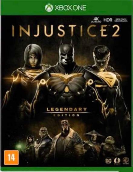 Injustice 2 Xbox One + 2 Brindes
