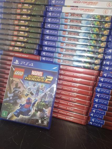 Lego Marvel Super Heróis 2 Ps4 Lacrado Frete 18 Reais