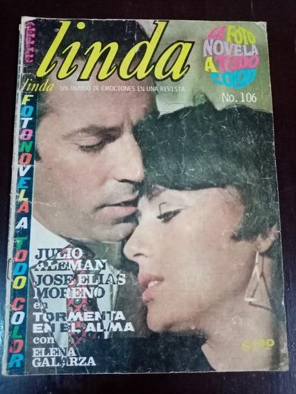 Elena Galarza Y Julio Aleman En Fotonovela Linda Año-1968