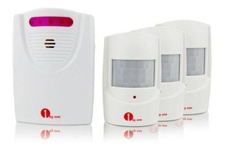 1 Receiver+3 Sensors - 100m Alarma Inalámbrica Sistema -5576