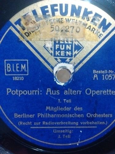 Berliner Philharmonischen Orchesters Disco Pasta 1057 C69