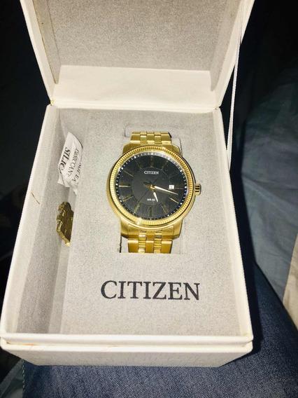 Relógio Citzen Masculino Dourado