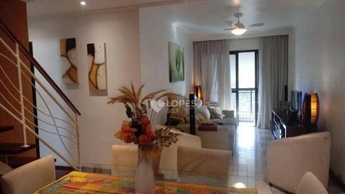 Cobertura Com 3 Dormitórios À Venda, 170 M² Por R$ 640.000,00 - Ingá - Niterói/rj - Co2930