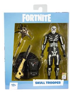 Muñeco Articulado Fortnite - Skull Trooper