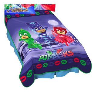 Cobertor Pj Maks Heroes En Pijamas *envio Gratis