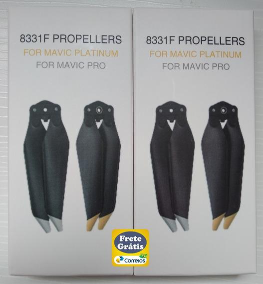 Helice Para Mavic Pro Platinum Lownoise 8331 Kit 4 Unidades