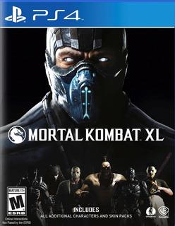 Mortal Kombat Xl Playstation 4 Fisico Ps4 Nuevo Sellado Ps4
