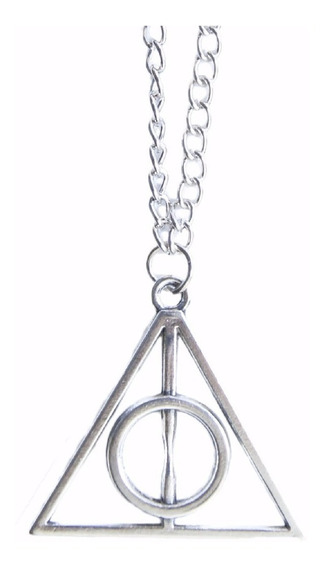 Colar Relíquias Da Morte Frete Gratis - Cordão Harry Potter