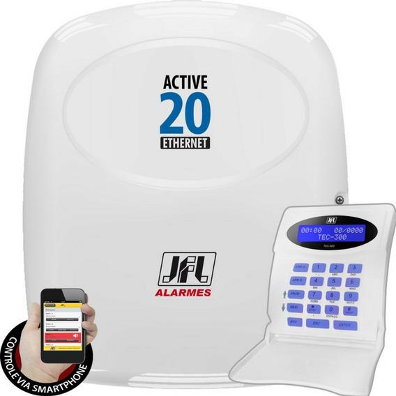Central De Alarme Monitorada Active 20 Ethernet Jfl
