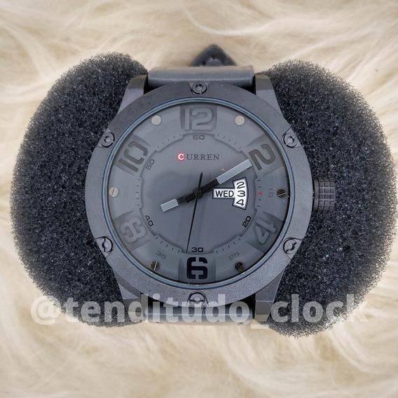 Relógio Original Analógico - Curren 8251 Presente Masculino