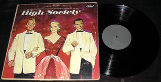Bing Crosby Brace Kelly Frank Sinatra High Society Lp Vinilo