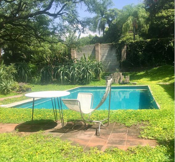 Casa Con Gran Jardin En Cuernavaca