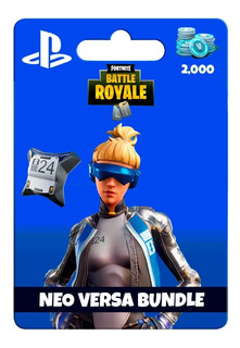 Tarjeta Fortnite Neo Versa Skin+2000v Bucks Ps4 | Gamer24hs