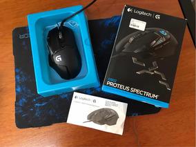 Mouse Logitech G502 Proteus Spectrum - Impecável