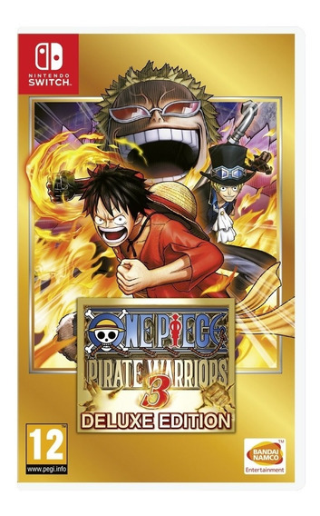 One Piece Pirate Warriors 3 Deluxe Edition Switch Novo