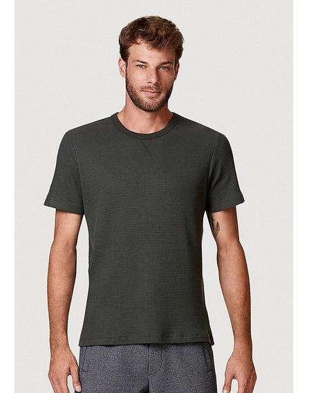 Camiseta Básica Masculina Manga Curta Malha Thermal Hering