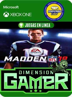 Madden Nfl 18 Xbox One Modo Local + En Linea