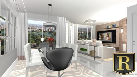 Apartamento Para Venda Em Guarapuava, Trianon, 2 Dormitórios, 1 Suíte, 2 Banheiros, 1 Vaga - _2-469398