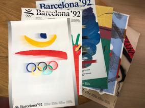 Cartazes Xxv Olímpiada Barcelona 1992