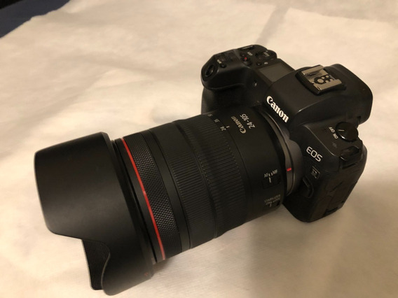 Canon Eos R Full-frame Mirrorless + Lente 24-105mm + Flash