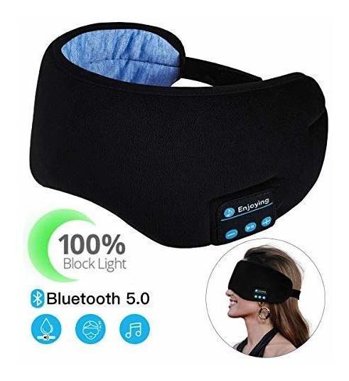 Antifaz Para Dormir Casebuy Eye-mask Bluetooth + Mic -negro
