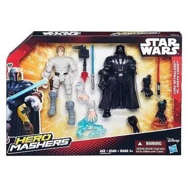 Star Wars Hero Mashers Luke E Darth Vader Hasbro