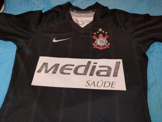 Camisa Antiga Corinthians Medial Feminina