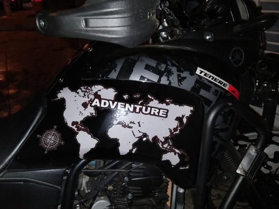 Adesivo Protetor Lateral Tanque Yamaha Tenere 250 Mapa