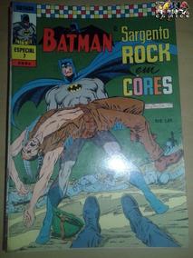 Batman Em Cores Especial Nº 07 Editora Ebal - Sarg Rock Dc